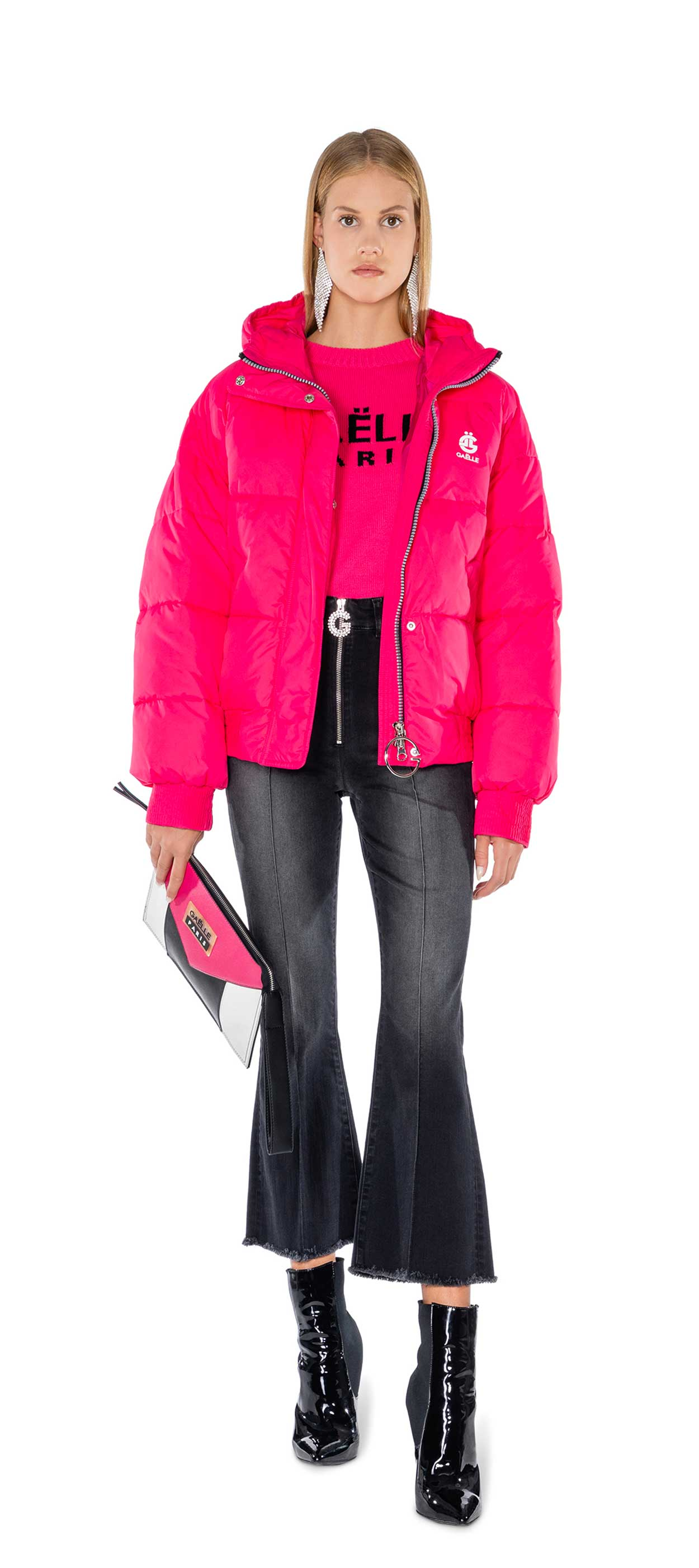 DOWN JACKET - GBD7204 - GAELLE PARIS