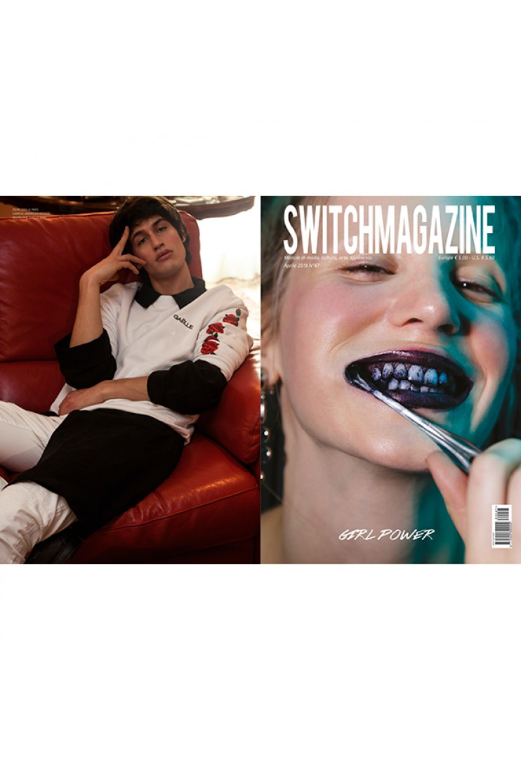Gaëlle Switchmagazine Aprile